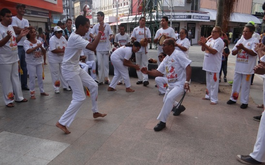 Capoeira brings together artistic, cultural performances and dances of the Orixás
