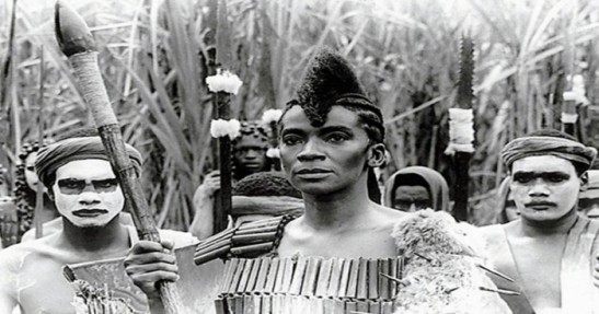 Zezé Motta as Dandara in the 1984 film 'Quilombo'