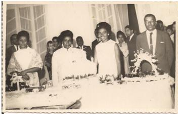Photo of Flores do Amaral family in 1968