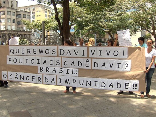 On Friday the 14th, friends and family pressured police in a protest