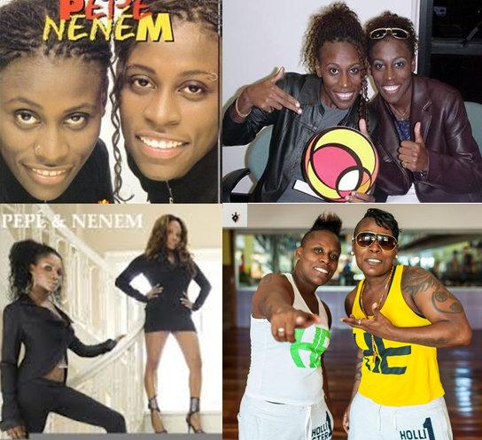 Pepê and Nené Oliveira