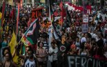 Thursday the 18th, thousands participated in march against police violence in downtown São Paulo