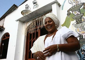 Mãe Gilda, yalorixá Jaciara dos Santos