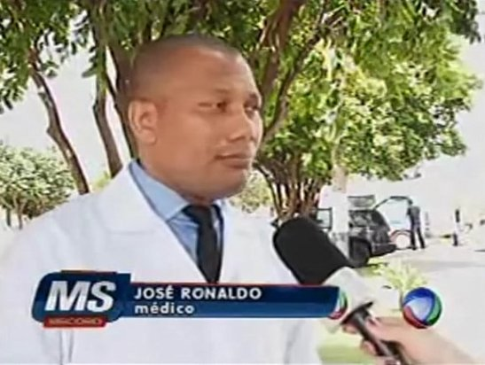 Dr. José Ronaldo da Silva was a victim of a racial slur at the university hospital