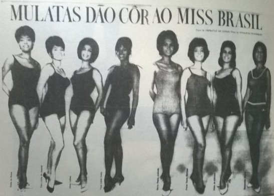 "The club also sought to establish a standard of black beauty through its ""Miss Mulata"" contests"