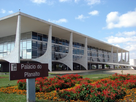 Palácio do Planalto in Brasília - Workplace of the Brazilian President