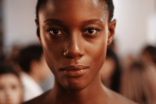 """You look around and don't see any black women, the only black woman that I'm seeing here is me,"" says Mariane Calazan backstage at SPFW"