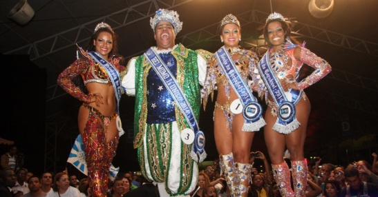 Rio's Corte de Carnaval for 2014