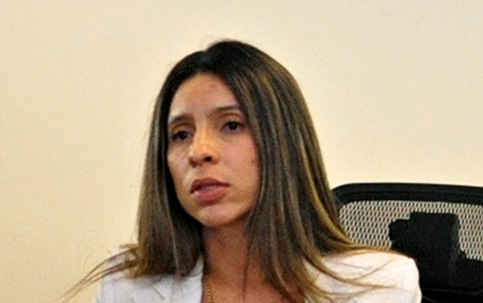 Patrícia Bezerra, of the Bureau of Tourist Protection