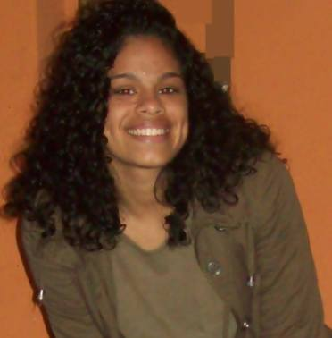 Student Fernanda believes in the power of education to change the inequalities in Brazil.  Photo: personal archive