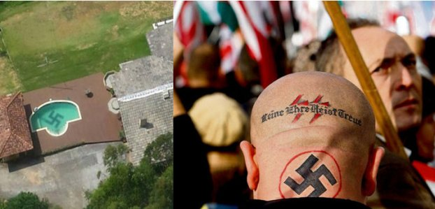 Nazis - Nazismo - piscina - pool