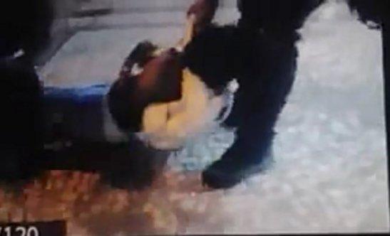 Vídeo flagra mulher sendo agredida por PM durante ato no Rio