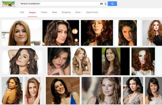 "Google image search with words ""Brazilian actresses"""
