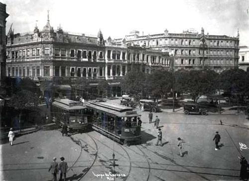 Largo da Carioca - Rio de Janeiro - 1920