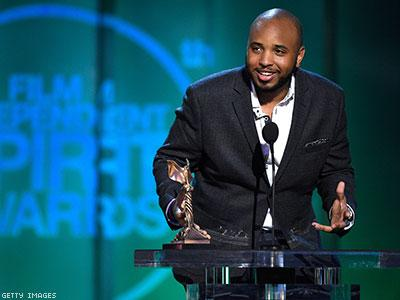 "Writer/director of ""Dear White People"", Justin Simien"