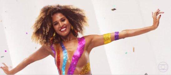 Érika Moura, Globo TV's latest 'Globeleza'