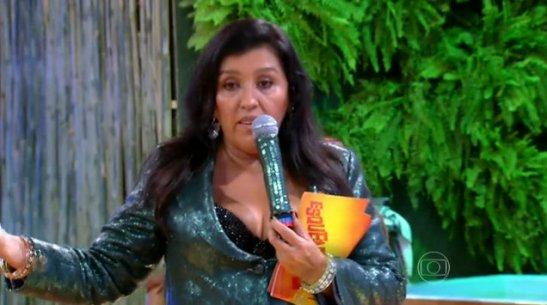 Host Regina Casé in the January 18th episode of Esquenta!