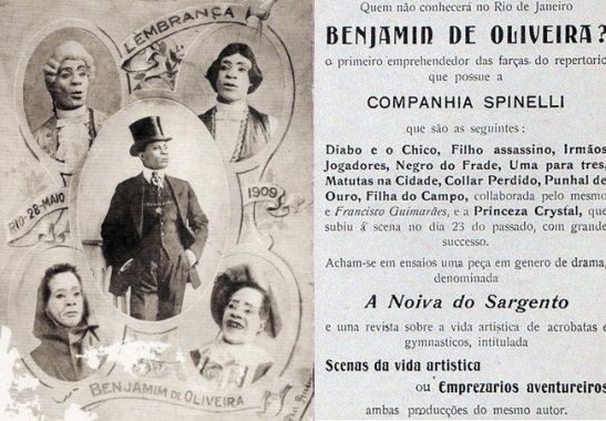 "Benjamin de Oliveira, the ""King of the Clowns"""