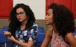 Carmen Kemoly e Ariadne Chaves, idealizadoras do Projeto Tela Preta (Foto - Gabriel Tôrres-CT)