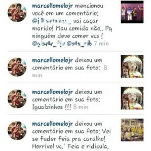 Marcello Mello Instagram comments