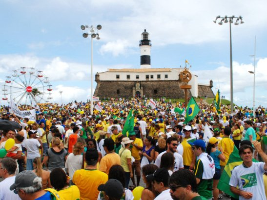 Farol da Barra in Salvador, Bahia