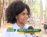 Elaine de Moura Correia was the victim of constant jokes at the hands of doctors because of her hair