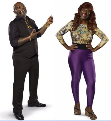 Famed funk singer Mr. Catra appears in Mother's Day promotion photos dressed in women's clothing.