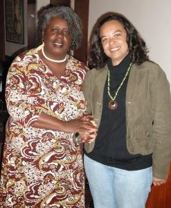 Authors Conceição Evaristo and Ana Maria Gonçalves