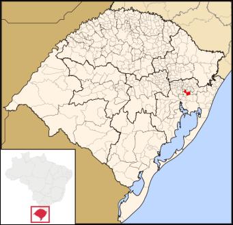 Novo Hamburgo, Rio Grande do Sul, in southern Brazil