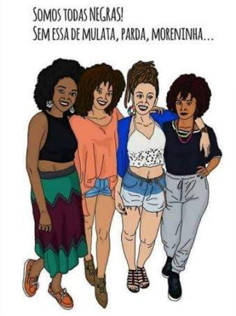 Somos todas negras! (colorism) 2