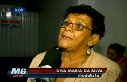 Diva Maria Silva witnessed the scene