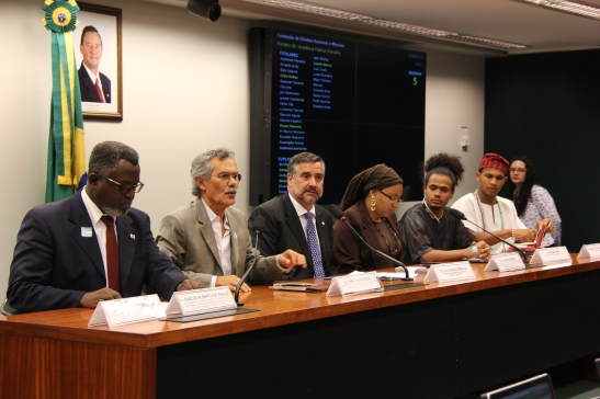 Debate and public hearing on violence against young blacks in Brazil's Federal Disctrict