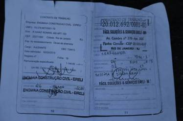 Wanderson Jesus Martins had only recently received his official working documents