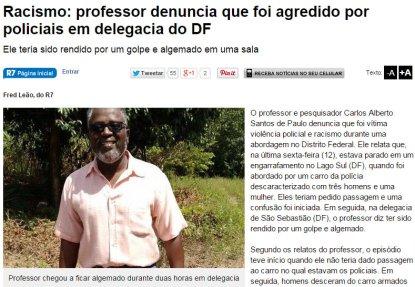 The Carlos Alberto Santos case made headlines late last year