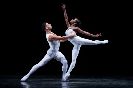 Ingrid Silva, shown here with Taurean Green, Ingrid Silva is the first soloist of New York City Ballet