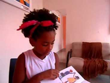 8-year old Carolina Monteiro has found success speaking about her hair in her You Tube video