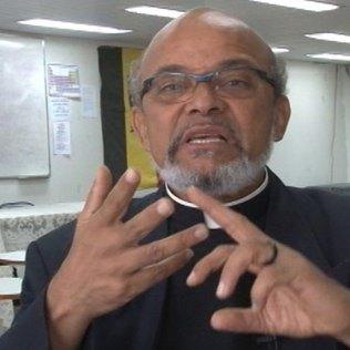 Movimento Negro activist Frei David Raimundo dos Santos wants a meeting with Dunga