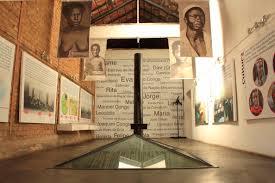 Interior of Instituto Pesquisa e Memória Pretos Novos