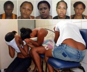 mulheres  suspeitas de traficar crack sao presos em alagoinhas