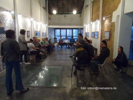 Meeting at Instituto Pretos Novos