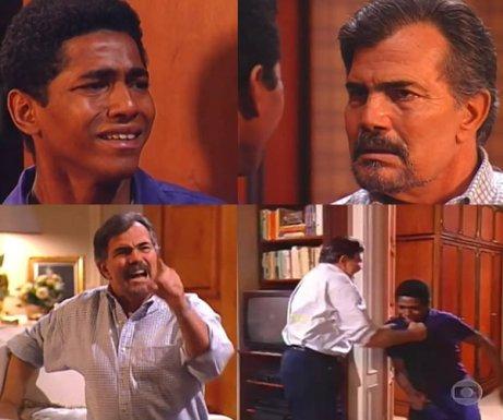 Controversial scene from 1994 novela 'Pátria Minha'