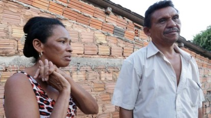 The victim's father and stepmother, Antônio and Maria José, couldn't understand the brutal nature of the murder