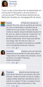 Blackface - Escola Nossa Senhora Servita Rainha dos Corações em Jacarepaguá Rio de Janeiro (7.5.2015 (4)