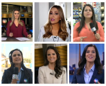 Journalists on Rede Record TV's 'Fala Brasil' news program