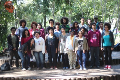 Students of various collectives, including Coletivo Abisogun, Coletivo Negro Kimpa, and Núcleo Negro Ibilce