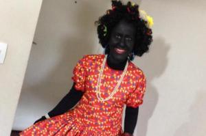 Professora de Joinville fantasiada com blackface gera discussão nas redes sociais