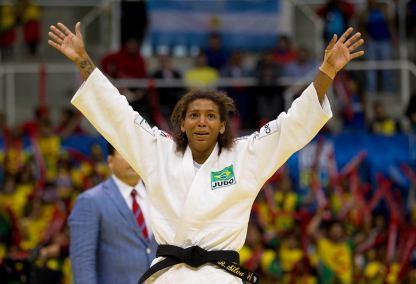 Rafaela Silva ficou com o bronze 2