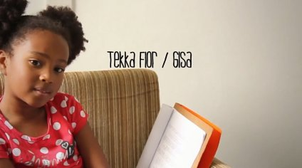 8-year old actress Tekka Flor plays Gisa