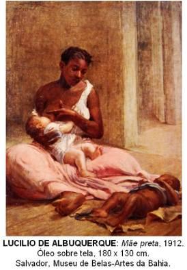 """Black mother"" (1912) by Lucilio de Albuquerque. Salvador, Museu-Artes da Bahia"