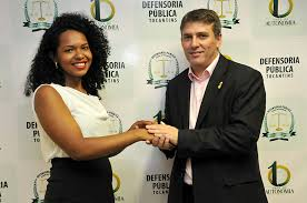 Joice Mayara de Oliveira Silva, 25, is the new Public Defender of the state of Tocantins
